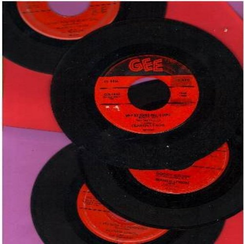 Lymon, Frankie - Frankie Lymon 4-Pack of vintage 45s: First issue originals in very good or better condition. Hits include: I Promise To Remember, Why Do Fools Fall In Love, I Want You To Be My Girl and Goody Goody. - VG6/ - 45 rpm Records