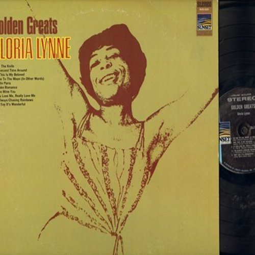 Lynne, Gloria - Golden Greats: Mack The Knife, Fly Me To The Moon, If You Love Me Really Love Me (Vinyl STEREO LP record) - NM9/NM9 - LP Records