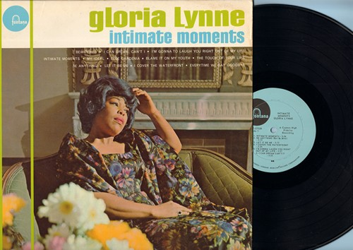Lynne, Gloria - Intimate Moments: Bewitched, My Ideal, Blue Gardenia, Be Anything, Let It Be Me (Vinyl MONO LP record) - NM9/EX8 - LP Records