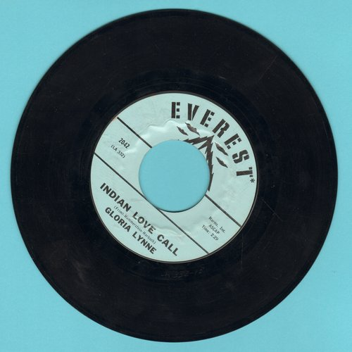 Lynne, Gloria - Indian Love Call/I Should Care - EX8/ - 45 rpm Records