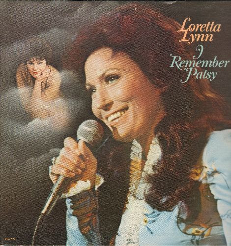 Lynn, Loretta - I Remember Patsy: Crazy, She's Got You, Walking After Midnight, I Fall To Pieces, Sweet Dreams, Leavin' On Your Mind (Vinyl MONO LP record, gate-fold cover) - NM9/VG6 - LP Records