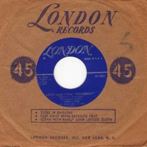 Lynn, Vera - Love Song From -Houseboat-/Almost In Your Arms (with London company sleeve) - EX8/ - 45 rpm Records