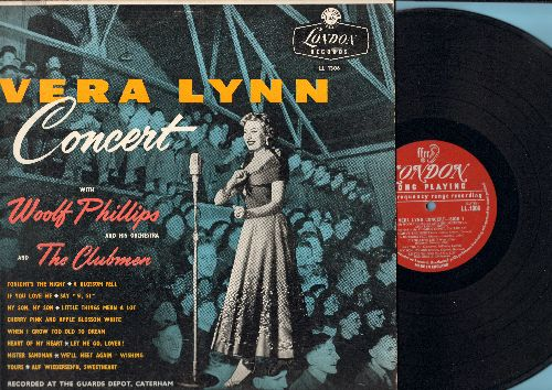 Lynn, Vera - Vera Lynn Concert: Mister Sandman, If You Love Me, My Son My Son, Little Things Mean A Lot, We'll Meet Again (vinyl LP record, British Pressing) - VG7/EX8 - LP Records