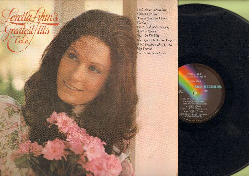 Lynn, Loretta - Loretta Lynn's Greatest Hits Vol. II: Coal Miner's Daughter, I Wanna Be Free, One's On The Way, Your Squaw Is On The Warpath (vinyl LP record) - EX8/EX8 - LP Records