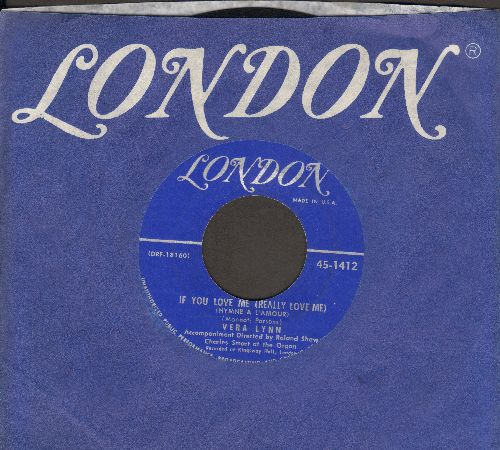 Lynn, Vera - If You Love Me (Really Love Me)/C'est La Vie (with London company sleeve) - NM9/ - 78 rpm