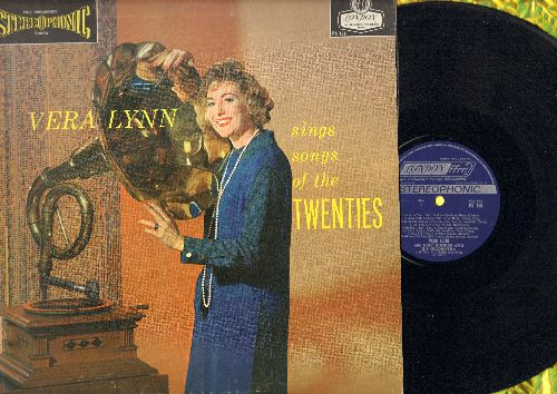 Lynn, Vera - Vera Lynn Sings Songs of the Twenties:  Side By Side, I'm Forever Blowing Bubbles, So Blue, Drifting And Dreaming (Vinyl STEREO LP record) - EX8/EX8 - LP Records