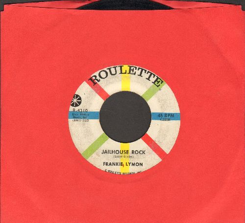 Lymon, Frankie - Jailhouse Rock/Silhouettes - VG7/ - 45 rpm Records