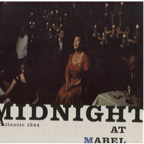 Mercer, Mabel - Midnight At Mabel Mercer's: Poor Pierrot, Wouldn't It Be Loverly, Lucky To Be Me, Some Other Time (Vinyl MONO LP record, reissue of vintage recordings) - NM9/NM9 - LP Records