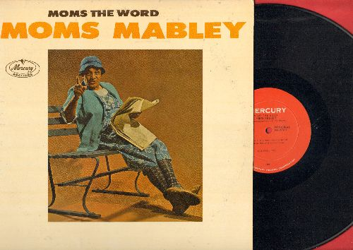 Mabley, Moms - Moms The Word - She Talks; She Sings (vinyl MONO LP record) - EX8/EX8 - LP Records