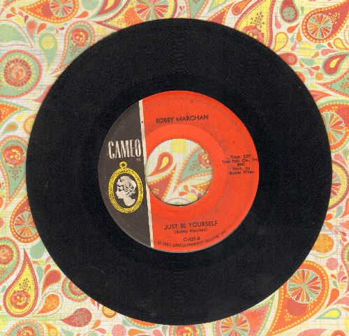 Marchan, Bobby - Just Be Yourself/Shake Your Tambourine (wol) - VG7/ - 45 rpm Records