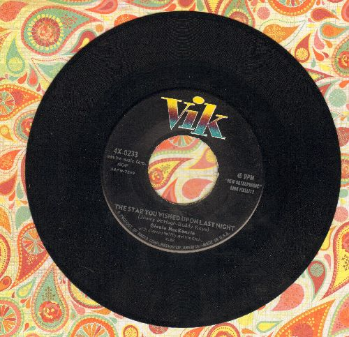 MacKenzie, Gisele - The Star You Wished Upon Last Night/It's Delightful To Be Married - EX8/ - 45 rpm Records