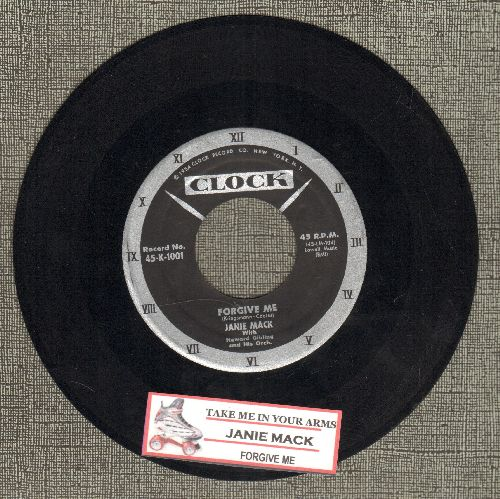 Mack, Janie - Forgive Me/Take Me In Your Arms (with juke box label) - NM9/ - 45 rpm Records