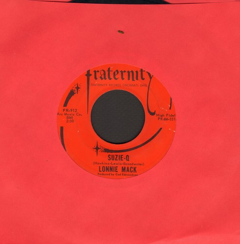 Mack, Lonnie - Suzie-Q/Wham! - EX8/ - 45 rpm Records