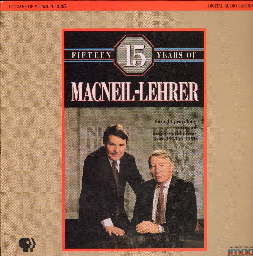 15 Years Of Macneil-Lehrer - 15 Years Of Macneil-Lehrer LASER DISC VERSION - NM9/EX8 - Laser Discs