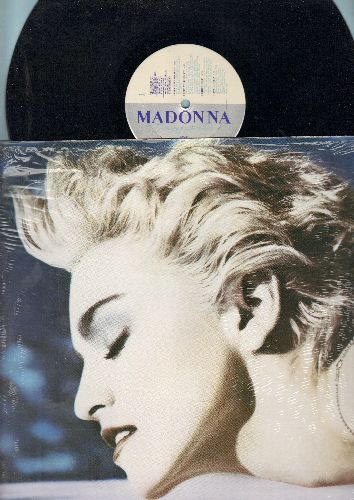 Madonna - True Blue: Papa Don't Preach, Live To Tell, La Isla Bonita (vinyl STEREO LP record) - NM9/VG7 - LP Records