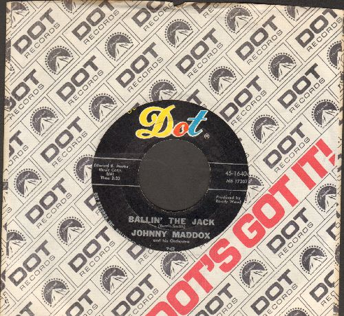Maddox, Johnny - Ballin' The Jack/Ragtime Johnny (with Dot company sleeve) - EX8/ - 45 rpm Records