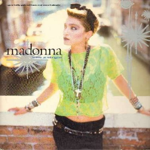 Madonna - Like A Virgin/Stay (12 inch 45rpm vinyl Maxi Single featuring Extended Dance Remix of Madonna's Break-Through Hit, with picture cover) - VG7/VG7 - Maxi Singles