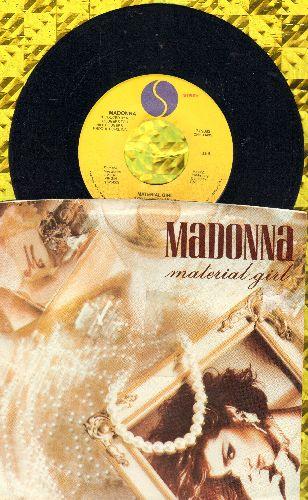 Madonna - Material Girl/Pretender - EX8/EX8 - 45 rpm Records