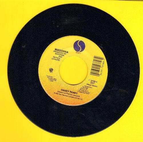 Madonna - Hanky Panky/More - EX8/ - 45 rpm Records