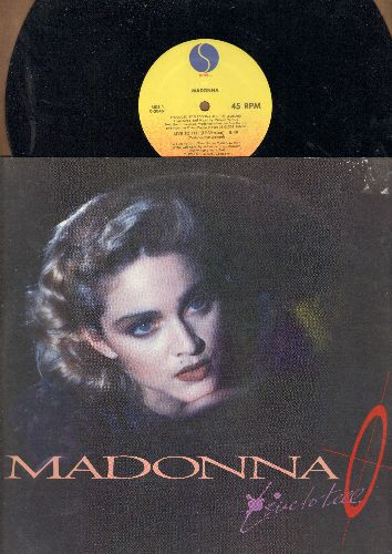 Madonna - Live To Tell (5:49 LP Version)/Live To Tell (4:37 Edited Version)/Live To Tell (5:49 Instrumental Version) (12 inch 45rpm Maxi Single with picture cover) - EX8/EX8 - 45 rpm Records
