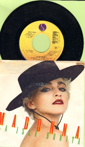 Madonna - La Isla Bonita/La Isla Bonita (Instrumental) (with picture sleeve) - NM9/VG6 - 45 rpm Records