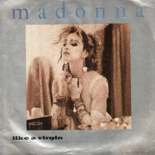 Madonna - Like A Virgin/Stay (with picture sleeve) - NM9/EX8 - 45 rpm Records