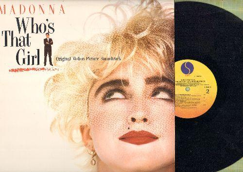 Madonna - Who's That Girl - Original Motion Picture Soundtrack (vinyl LP record) - NM9/NM9 - LP Records