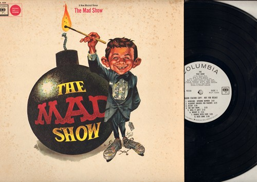 The Mad Show - The Mad Show - A New Musical (Vinyl MONO LP record, DJ advance pressing) - NM9/EX8 - LP Records