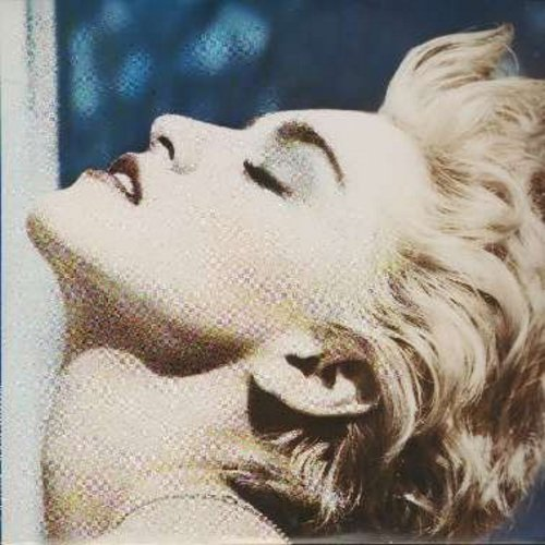 Madonna - True Blue: La Isla Bonita, Live To Tell, Papa Don't Preach, Open Up Your Heart, Where's The Party (vinyl STEREO LP record) - NM9/EX8 - LP Records