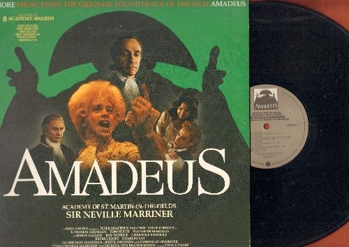 Amadeus - More music from the orignal Soundtrack of the film Amadeus, Winner of 8 Academy Awards - Academy Of St. Martin-In-The-Fields, Sir Neville Marriner (vinyl LP record, gate-fold cover) - NM9/EX8 - LP Records