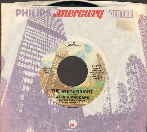 Maggard, Cledus - The White Knight (7:12 minutes)/The White Knight (3:57 minutes) (with company sleeve) - NM9/ - 45 rpm Records