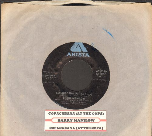 Manilow, Barry - Copacabana (At The Copa) (long and short version) (with Arista company sleeve and juke box label) - NM9/ - 45 rpm Records