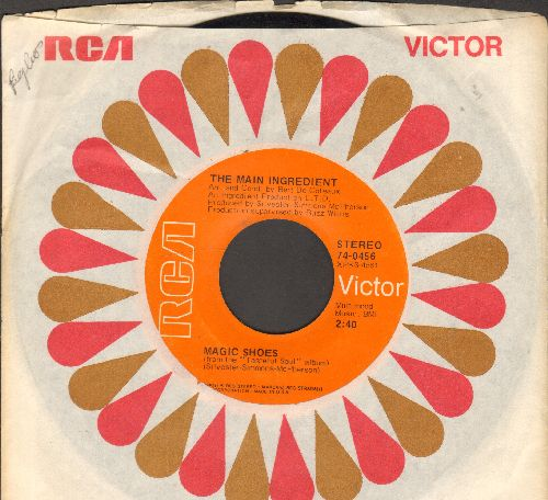 Main Ingredient - Magic Shoes/Spinning Around (I Must Be Falling In Love) - EX8/ - 45 rpm Records