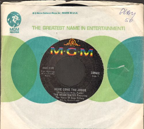 Magistrates - Here Come The Judge/Girl (with MGM company sleeve)  - NM9/ - 45 rpm Records