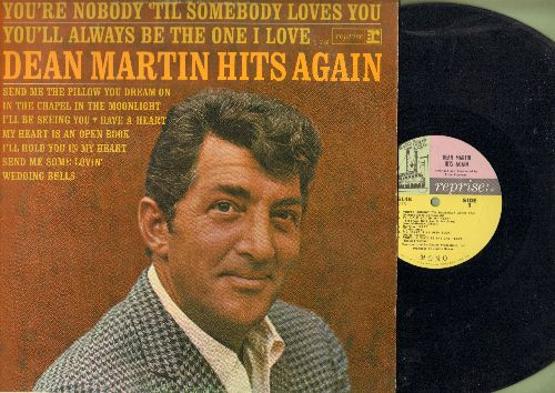 Martin, Dean - Hits Again: Send Me The Pillow You Dream On, Send Me Some Lovin', I'll Hold You In My Heart (Vinyl MONO LP record) - EX8/EX8 - LP Records