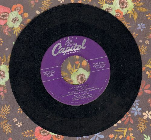 Martin, Dean - The Peddler Man (Ten I Loved)/That's What I Like  - EX8/ - 45 rpm Records
