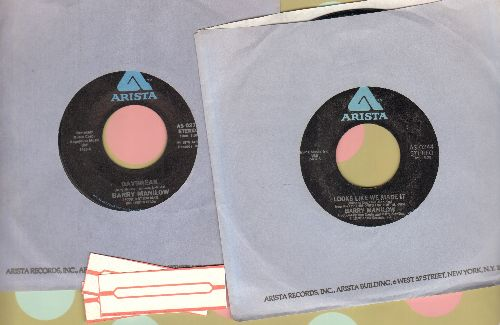 Manilow, Barry - 2 for 1 Special: Daybreak/Looks Like We Made It (2 vintage first issue 45rpm records with company sleeve for the price of 1!) - NM9/ - 45 rpm Records