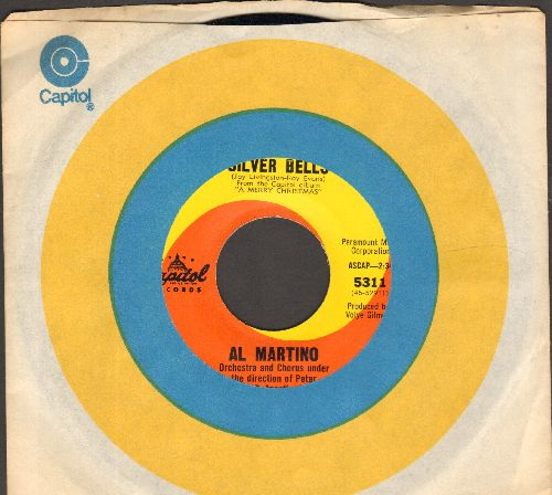 Martino, Al - Silver Bells/You're All I Want For Christmas (with Capitol company sleeve) - NM9/ - 45 rpm Records