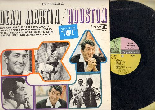 Martin, Dean - Houston: Down Home, Snap Your Fingers, Detour, Love Love Love (Vinyl STEREO LP record) - EX8/EX8 - LP Records