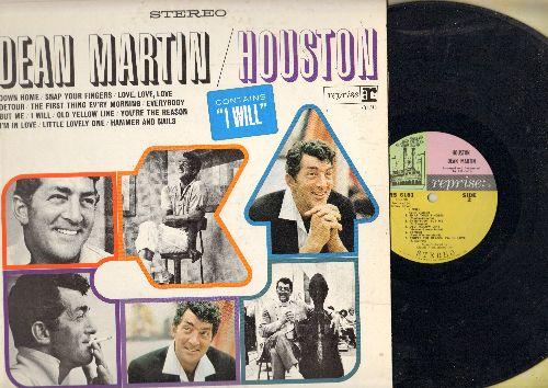 Martin, Dean - Houston: Down Home, Snap Your Fingers, Detour, Love Love Love (Vinyl STEREO LP record) - EX8/EX8 - LP Records
