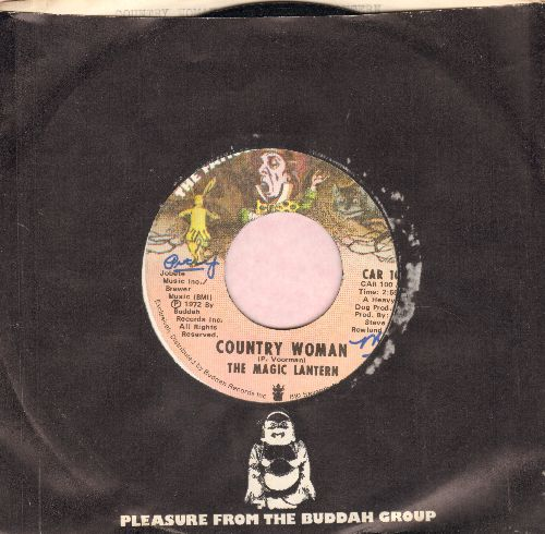 Magic Lantern - Country Woman/Pa Bradley (with Buddah company sleeve) (minor wol) - EX8/ - 45 rpm Records