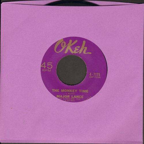 Lance, Major - The Monkey Time/Mama Didn't Know - NM9/ - 45 rpm Records