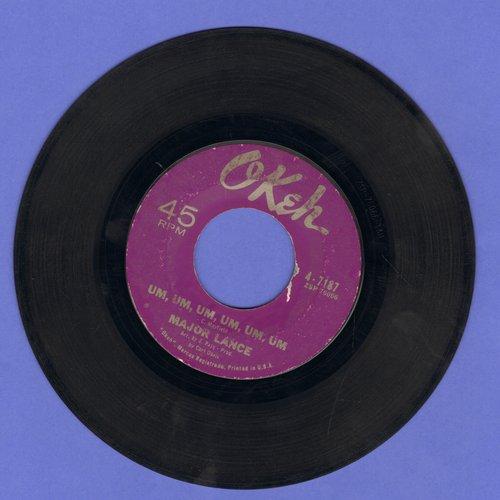 Lance, Major - Um, Um, Um, Um, Um, Um/Sweet Music (sol) - VG6/ - 45 rpm Records