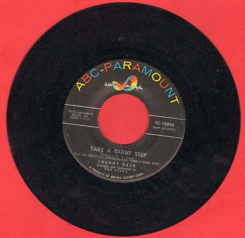Nash, Johnny - Take A Giant Step/But Not For Me - EX8/ - 45 rpm Records
