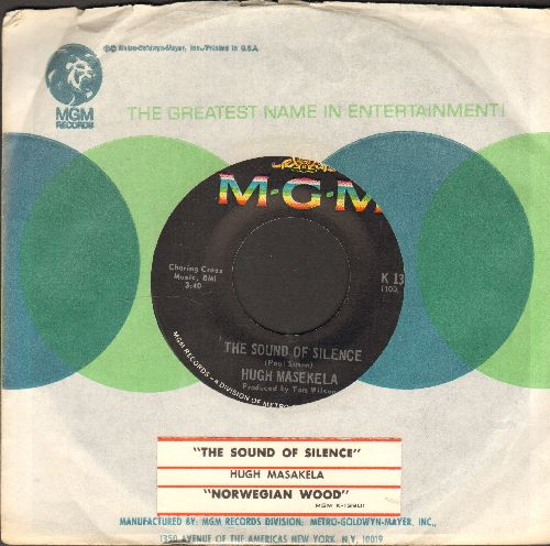 Masekela, Hugh - The Sound Of Silence/Norwegian Wood (with MGM company sleeve and juke box label) - EX8/ - 45 rpm Records