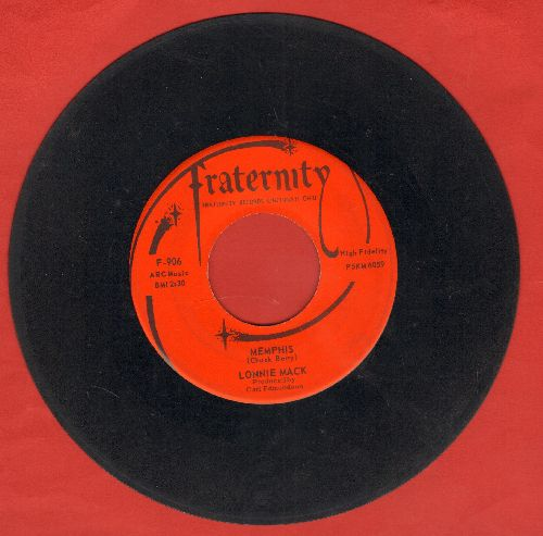 Mack, Lonnie - Memphis/Down In The Dumps (with vintage Fraternity company sleeve) - EX8/ - 45 rpm Records