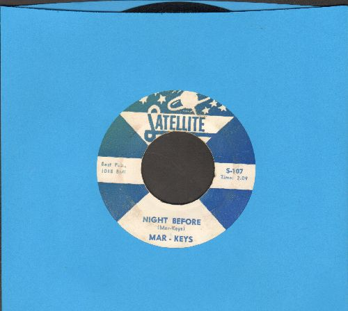 Mar-Keys - Last Night/Night Before - EX8/ - 45 rpm Records