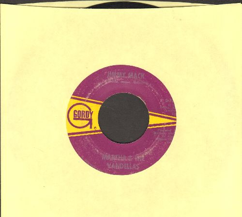 Martha & The Vandellas - Jimmy Mack/Third Finger, Left Hand  - VG7/ - 45 rpm Records