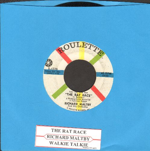 Maltby, Richard & His Orchestra - The Rat Race/Walkie Talkie (with juke box label) - EX8/ - 45 rpm Records