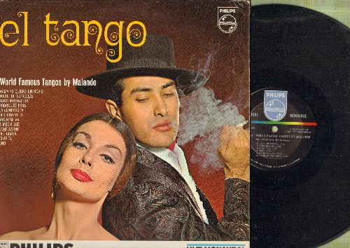 Malando - El Tango - World Famous Tangos By Malando (vinyl MONO LP record) - NM9/EX8 - LP Records